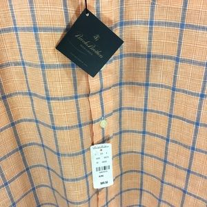 Brooks Brothers Shirts - Brooks Brothers Shirt XL, Lg Sleeves, Orange&Blue